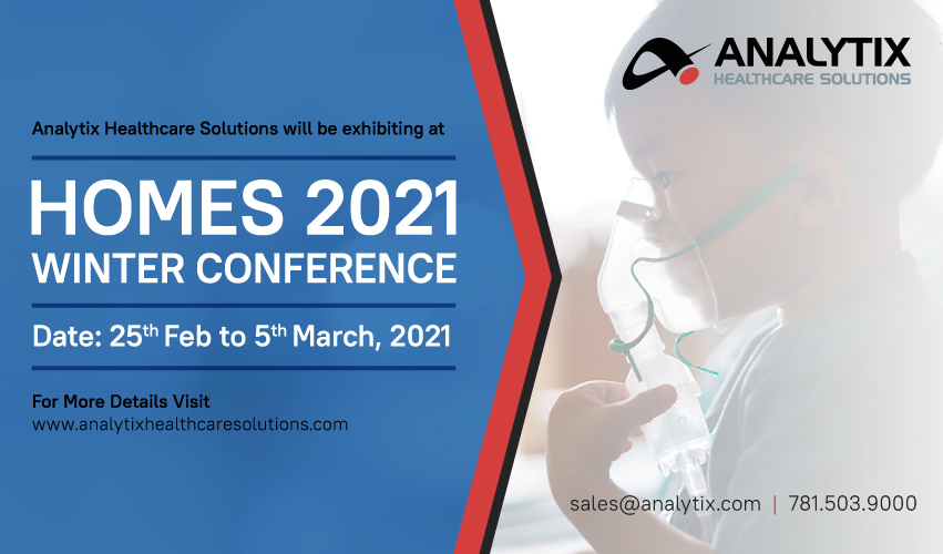 Analytix Healthcare Solutions Will be Exhibit at HOMES 2021
